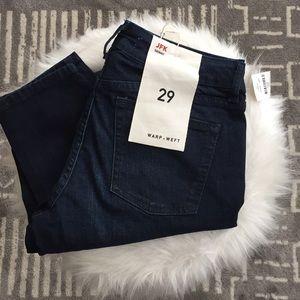 Warp + Weft JFK skinny jeans NWT